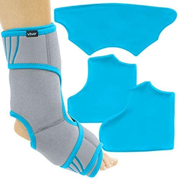 Ankle Ice Pack Wrap