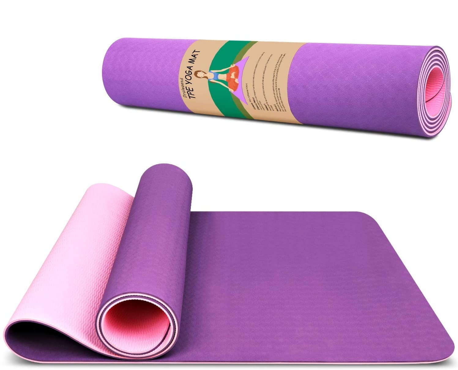 Yoga Mat Exercise Fitness Mat