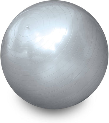 CAP Barbell HHE-S065B Cap Fitness Gym Ball, Silver, 65cm
