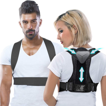r Women and Men, Adjustable Back Brace