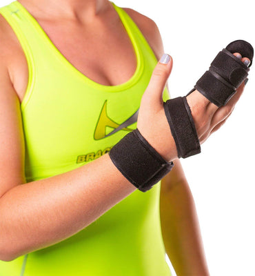 Two Finger Immobilizer Straighten