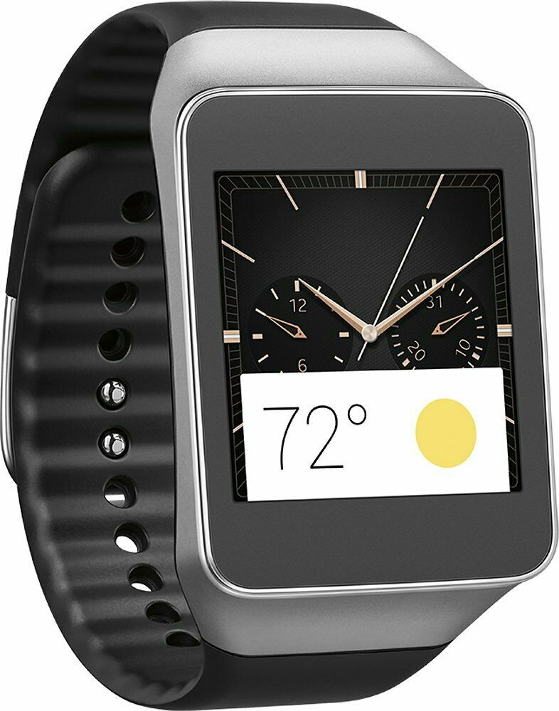 Smartwatch with Black Case