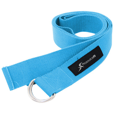 Metal D-Ring Yoga Strap