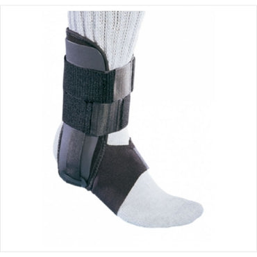 Ankle Support Hook and Loop Closure