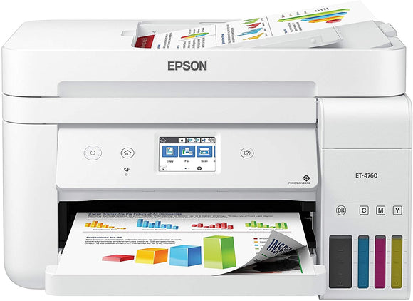Epson EcoTank Wireless Color All-in-One Cartridge-Free Supertank Printer