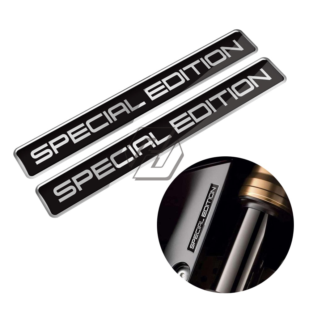 3D Special Edition Sticker