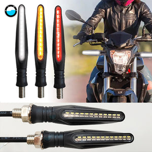 LED Motorcycle Turn Signals Tail Light