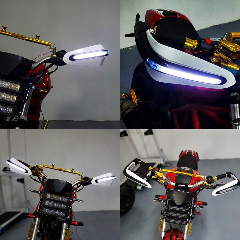 Hand guard/Protection With LED Lights