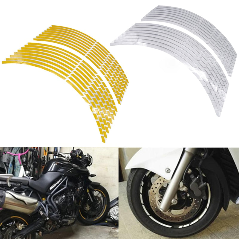 Motorcycle Car Wheel Tire Stickers
