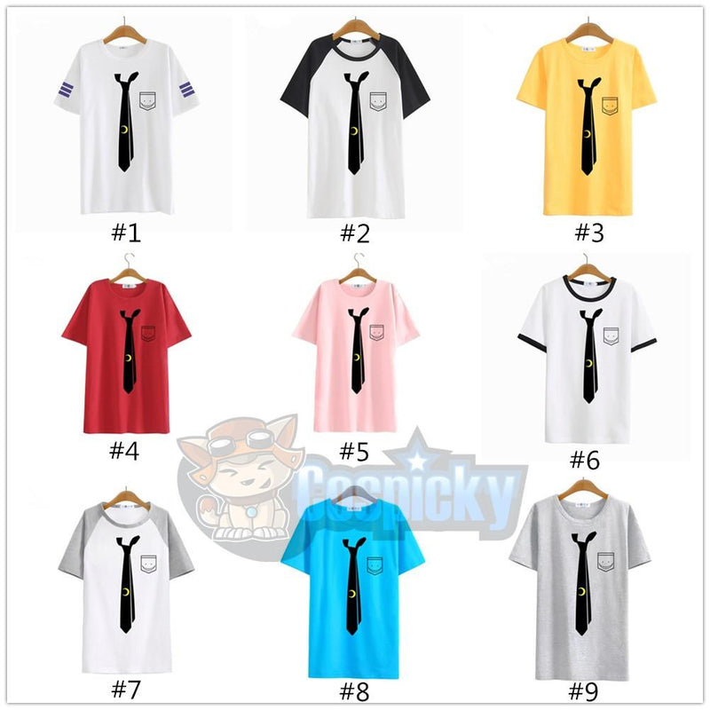 Assassination Classroom - Korosensei Tie Anime Short Sleeve T-shirt CP153120