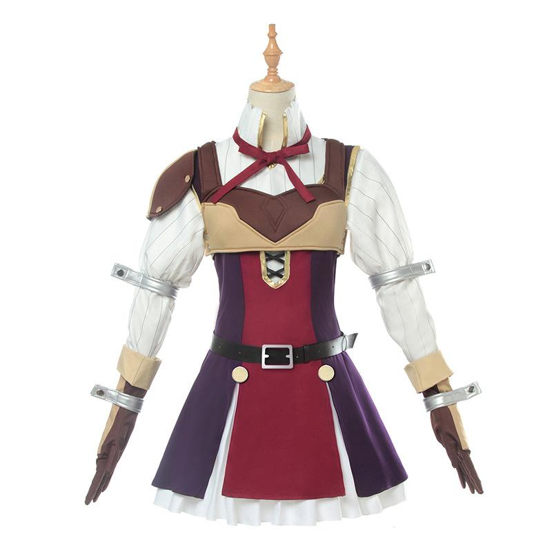 Tate No Yuusha No Nariagari Ravtaria Costume Dress Girls Beast Ear Niang Anime Cosplay