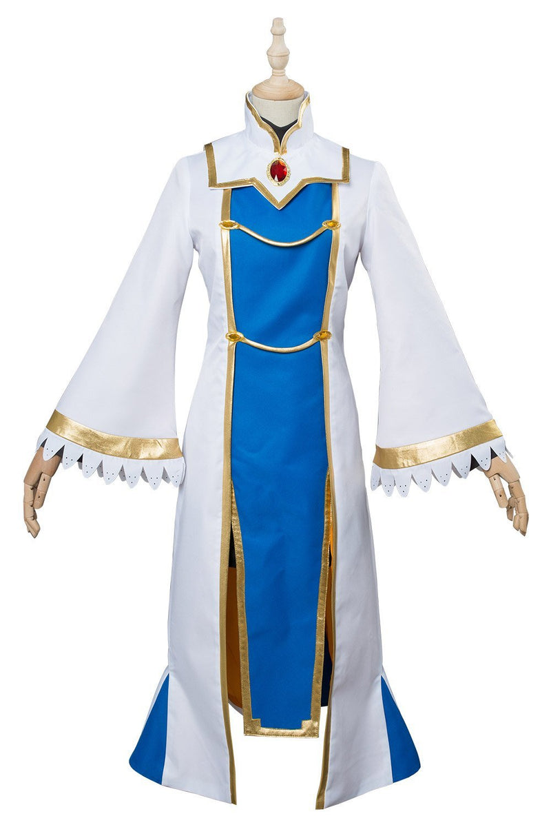 Anime Goblin Slayer Priestess Onna Shinkan Cosplay Costume