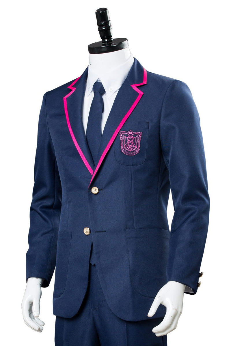 Deadly Class  Boys Student School Uniform Cosplay Costume