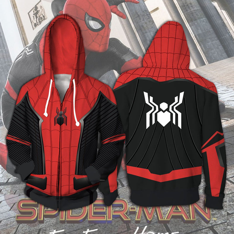 Avenger Alliance Spider Man Hoodie Cosplay Digital Printed 3D Sanitary Clothes