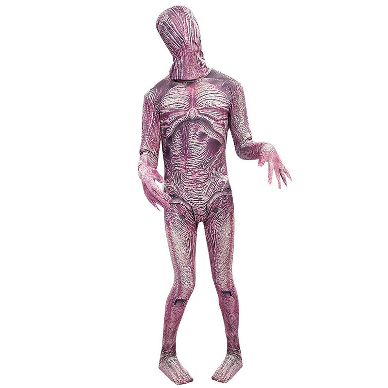 Stranger Things Zombie Corpse Flower Jumpsuit Costume For Kids Halloween Cosplay
