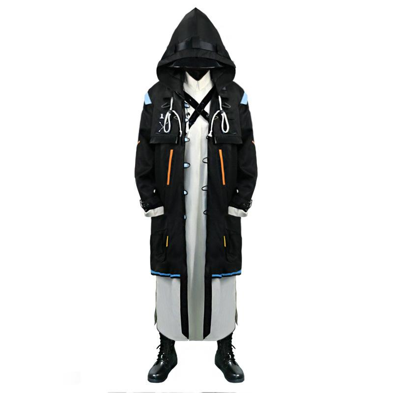 Arknights Doctor Long Coat Costume Game Cosplay