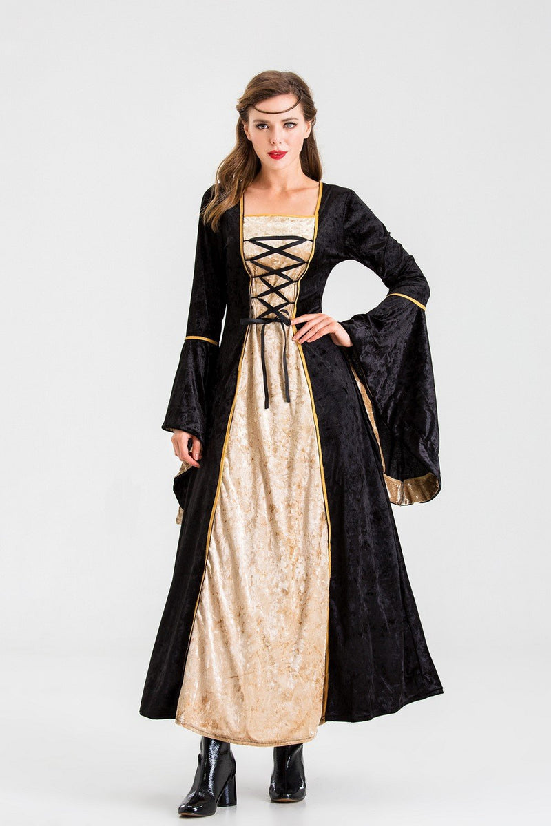 Retro Court Aristocratic Queen Cos Masquerade Party Costume