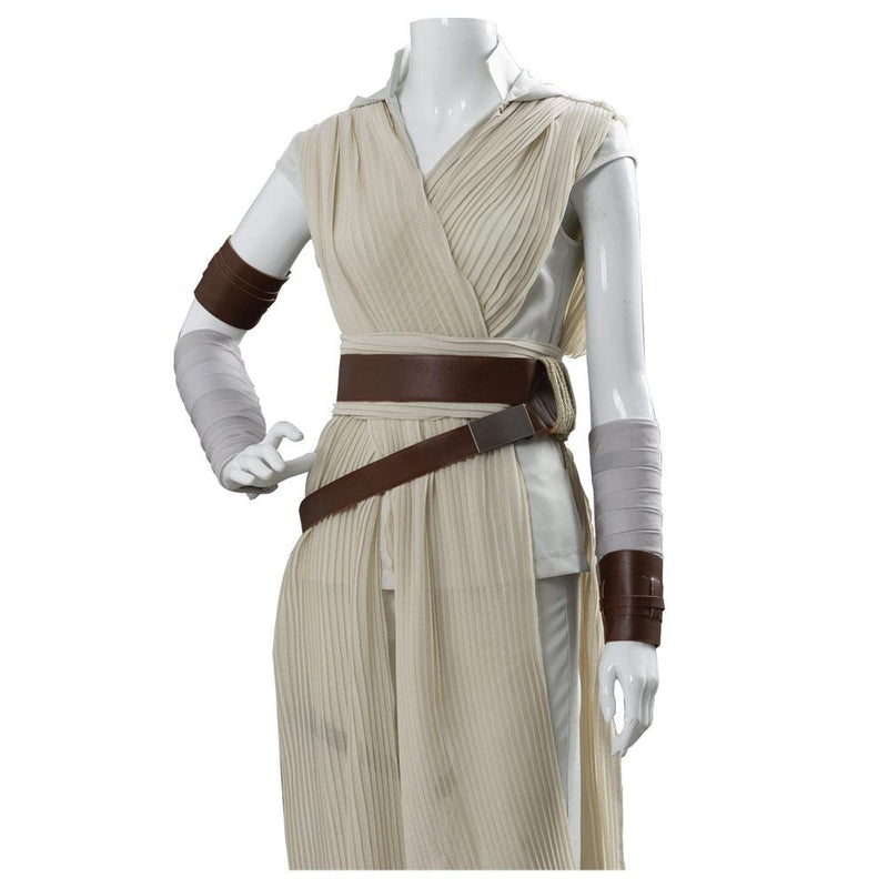 Star Wars:The Rise of Skywalker Rey Outfit Dress Cosplay Costume