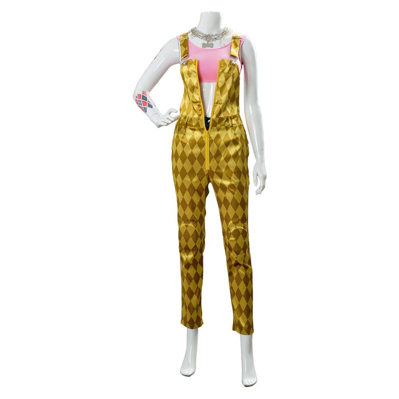 Birds of Prey (And the Fantabulous Emancipation of One Harley Quinn) Suit Cosplay Costume