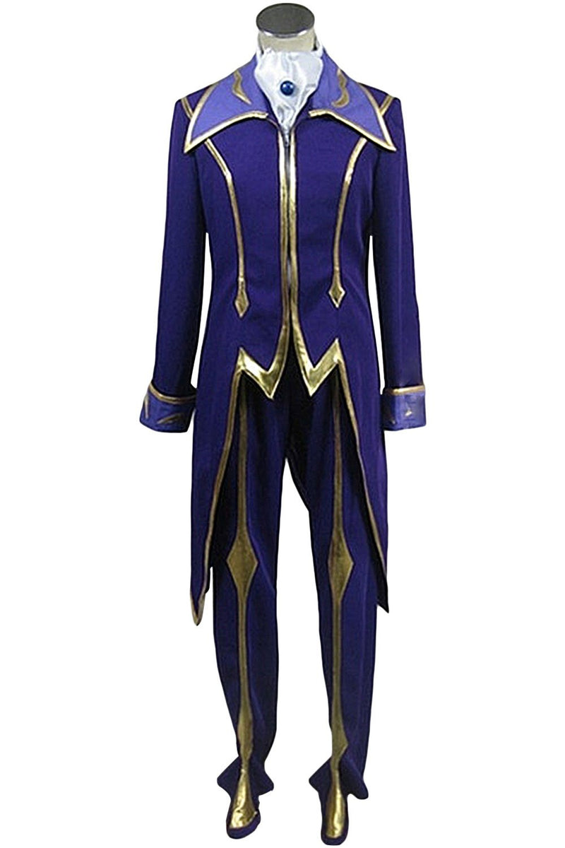 Code Geass: Lelouch of the Rebellion Zero Outfit Cosplay Costume