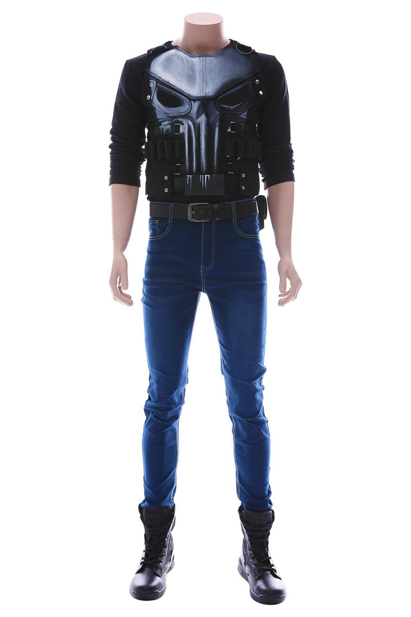Marvel's The Punisher Season 2 Frank Castle Outfit Cosplay Costume