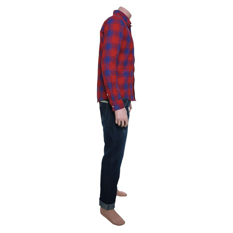 Ian Lightfoot Onward Shirt Suit Cosplay Costume