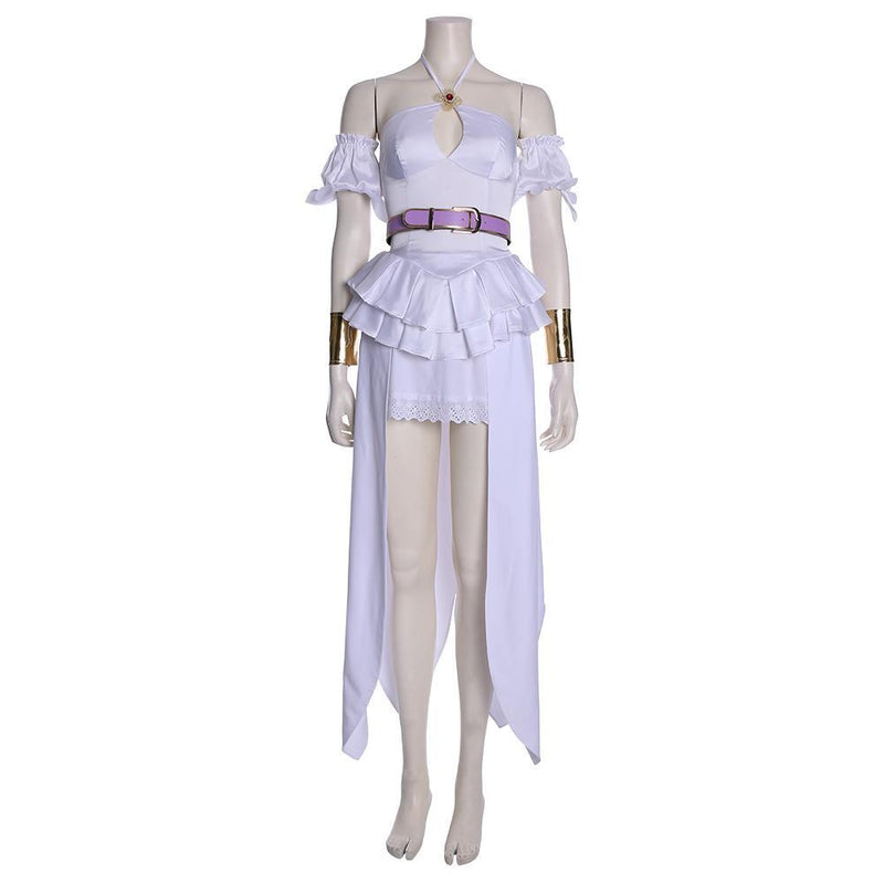 Cautious Hero: The Hero Is Overpowered but Overly Cautious Goddess Lisita Dress Cosplay Costume