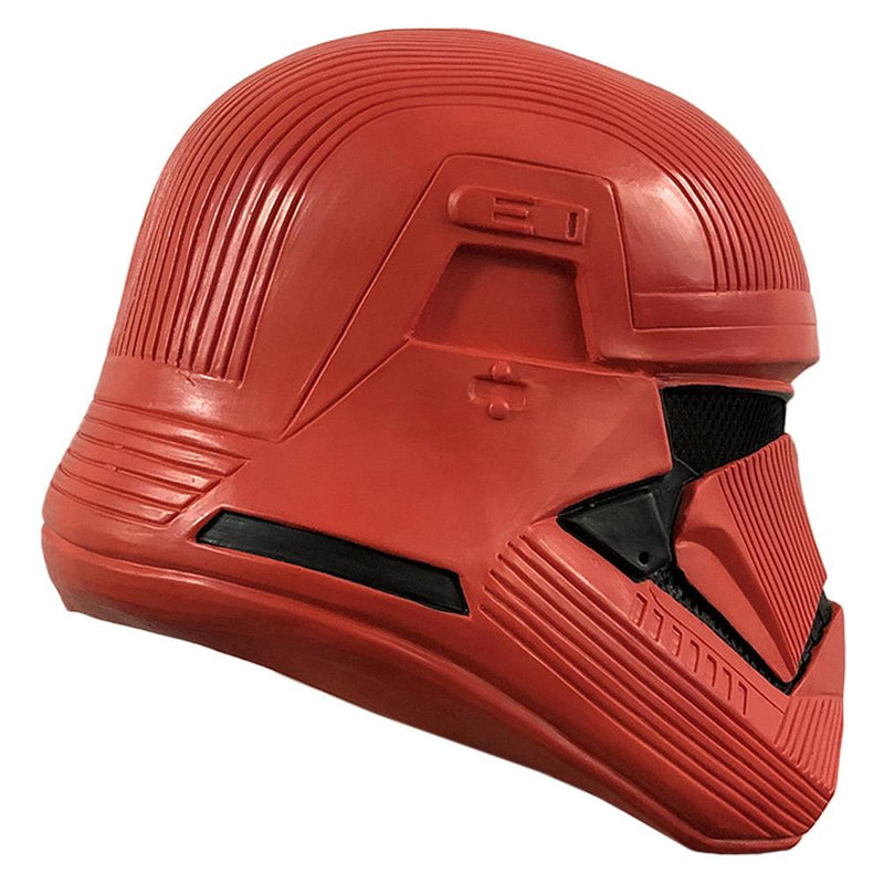 Star Wars: The Rise of Skywalker Sith Trooper Red Latex Mask Cosplay Props