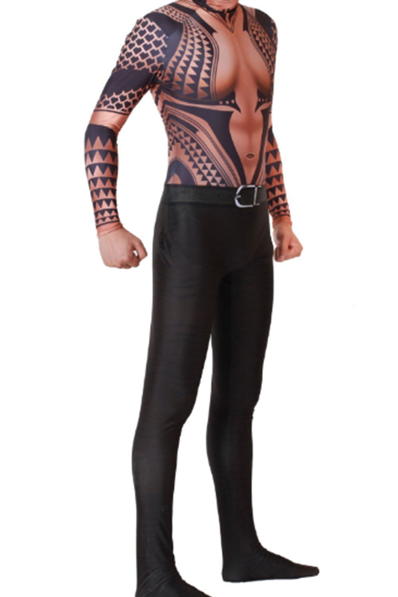 2018 Aquaman Arthur Curry Outfit Cosplay Costume