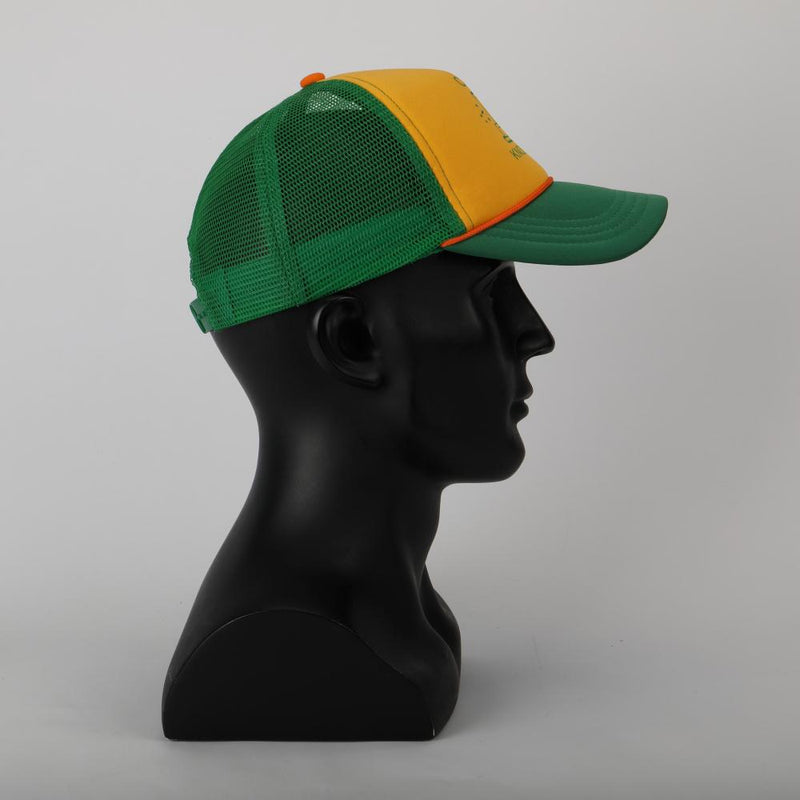 2019 Stranger Things Dustin Hat Retro Mesh Trucker Cap Yellow Green 85 Know Where Adjustable Cap Gifts Halloween