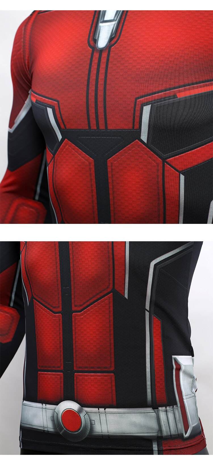 Ant Man 3D Printed T shirts Men Avengers 4 Endgame Compression Shirt Cosplay Costume Tigths Long Sleeve Tops For Male