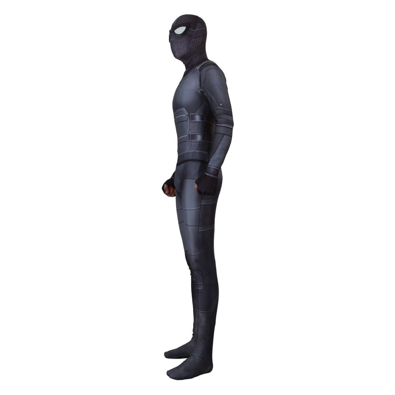 Adult Spider Man Far From Home Peter Parker Stealth Suit Cosplay Costume Zentai Spiderman Superhero Bodysuit Suit Jumpsuits
