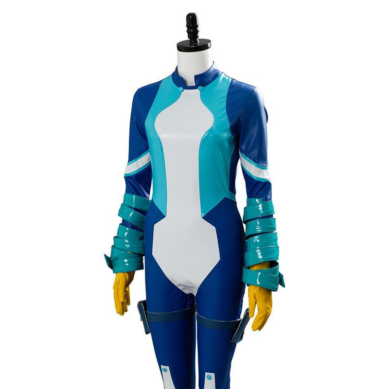 My/Boku no Hero Academia Season 4 Big Three Nejire Hado Suit Cosplay Costume