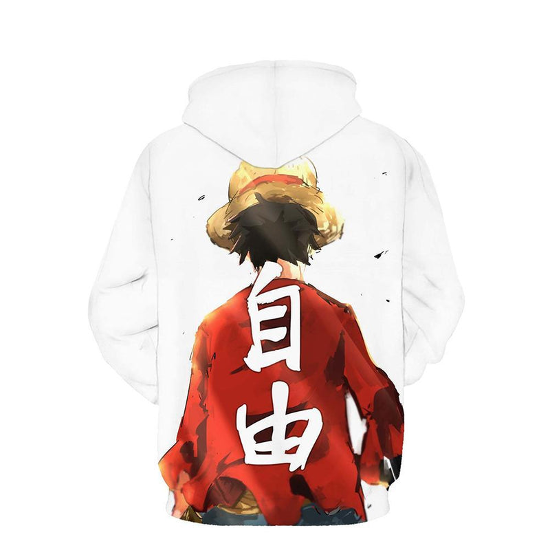 One Piece Hoodie - Monkey D. Luffy Pullover Hoodie CSSO017