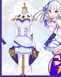Re Life In A Different World From Zero Emilia Dress Costume
