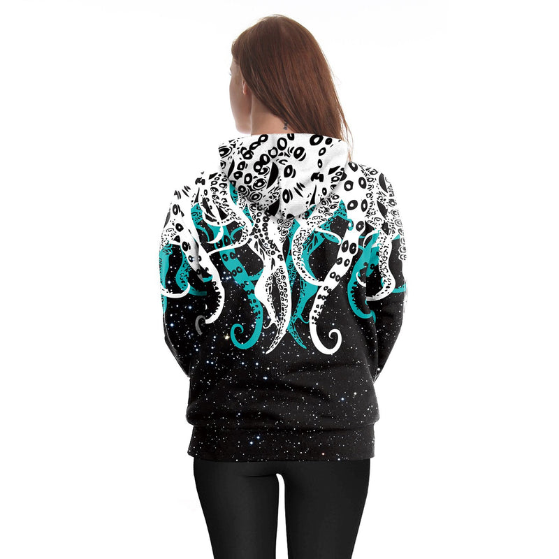 Octopus Hoodie Fashion Sweatshirt For Men And Women