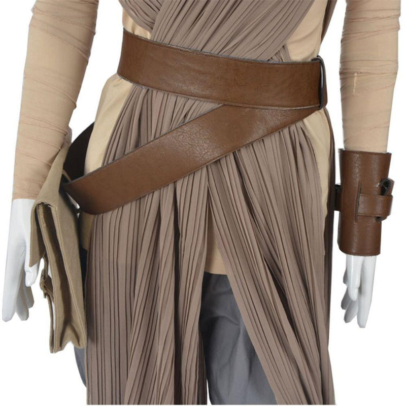 Star Wars Force Awakens Rey Cosplay Costume Halloween