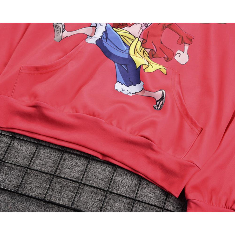 One Piece Hoodie - Monkey D. Luffy Pullover Hoodie CSSO016