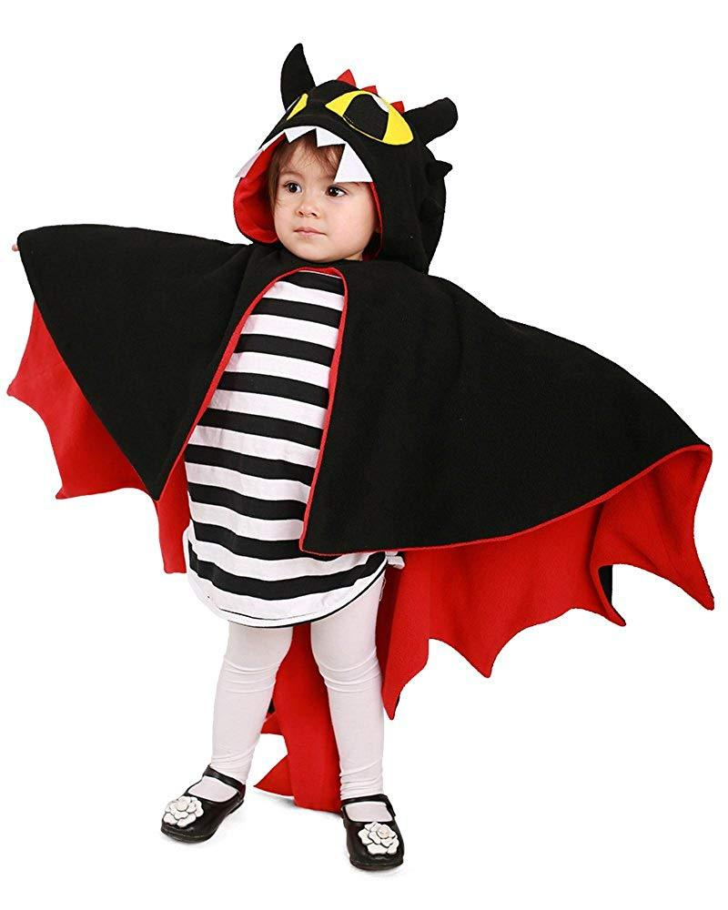 Kids Little Devil Cosplay Cloak Hoodie