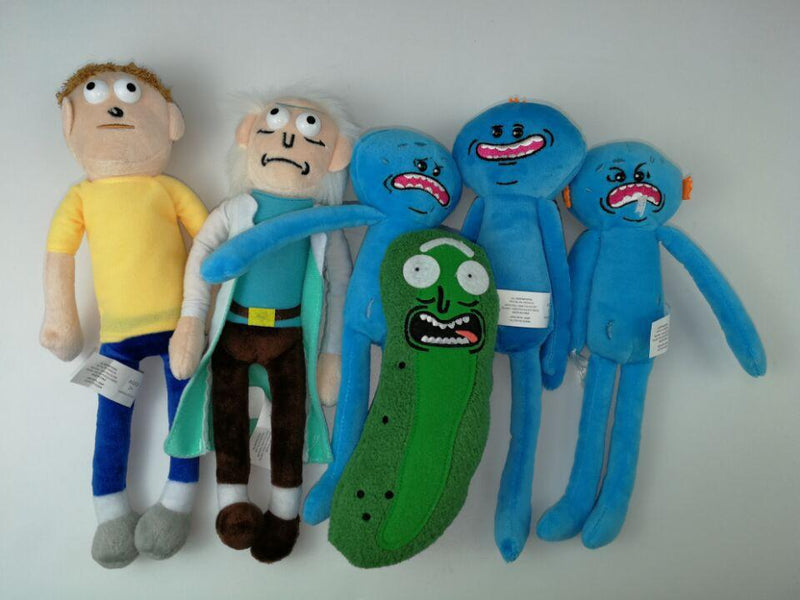 Rick and Morty Plush toy doll