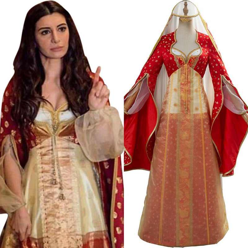 Movie Aladdin Dalia Cosplay Costume