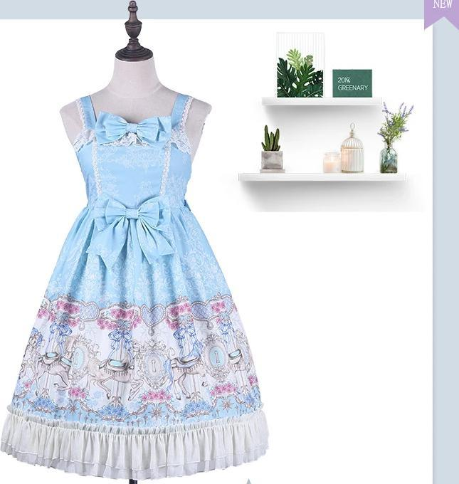 Lolita Dress Costume Carousel Jsk Sweet Clothes For Girls And Women
