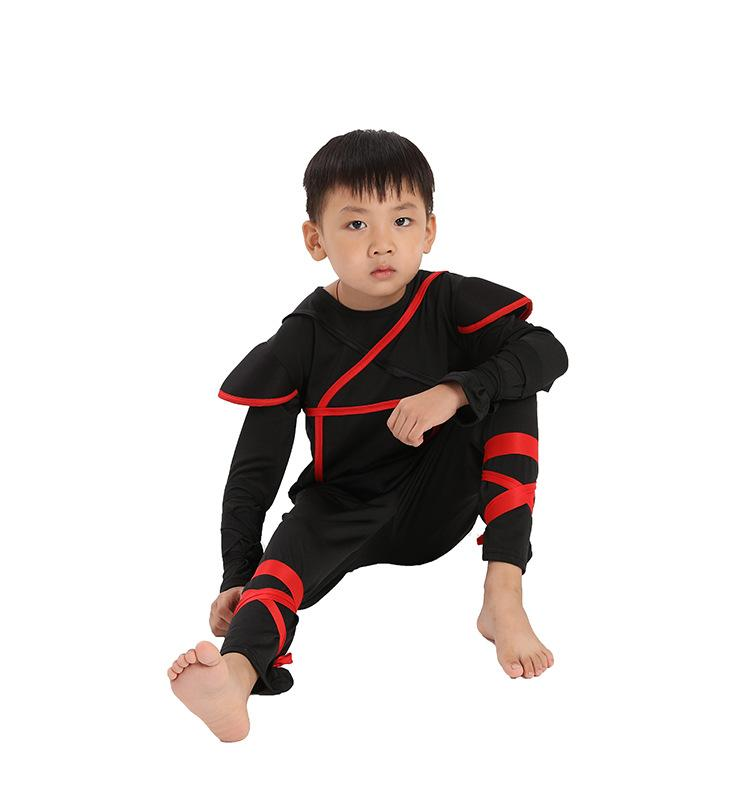 Halloween Cosplay Costume Children Naruto Costume Dance Play Clothes