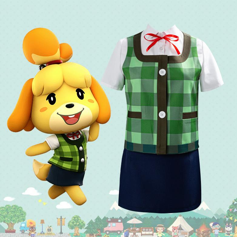 Pre-order Animal Crossing Isabelle Cosplay SD00358