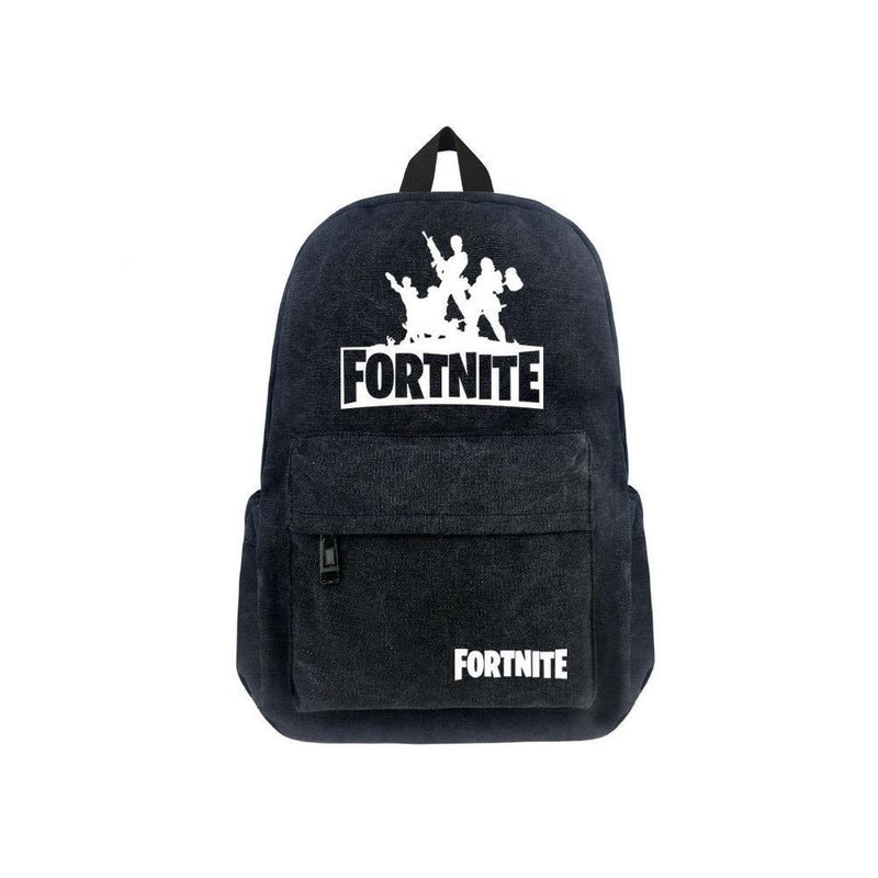 "Game Fortnite 17"" Canvas Bag Backpack CSSO100"