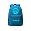 "Game Overwatch 17"" Canvas Luminous Bag Backpack CSSO130"