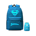 "DC Comic Super Hero Superman Luminous 17"" Computer Backpack CSSO115"
