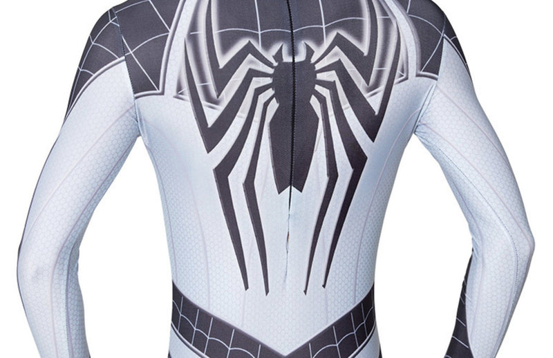 Spiderman Negative Suit Costume Spider Man Jumpsuit