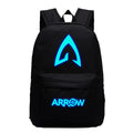 DC Comic The Green Arrow Hooded Vigilante Luminous Backpack 19X12'' CSSO112