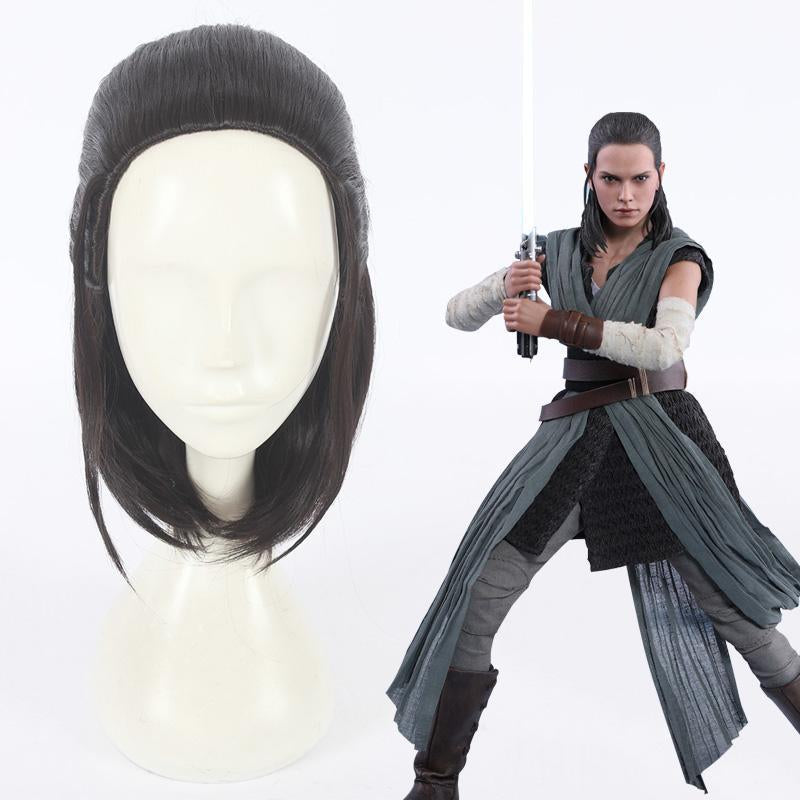 Cosplay Wig - Star Wars: The Last Jedi-Rey